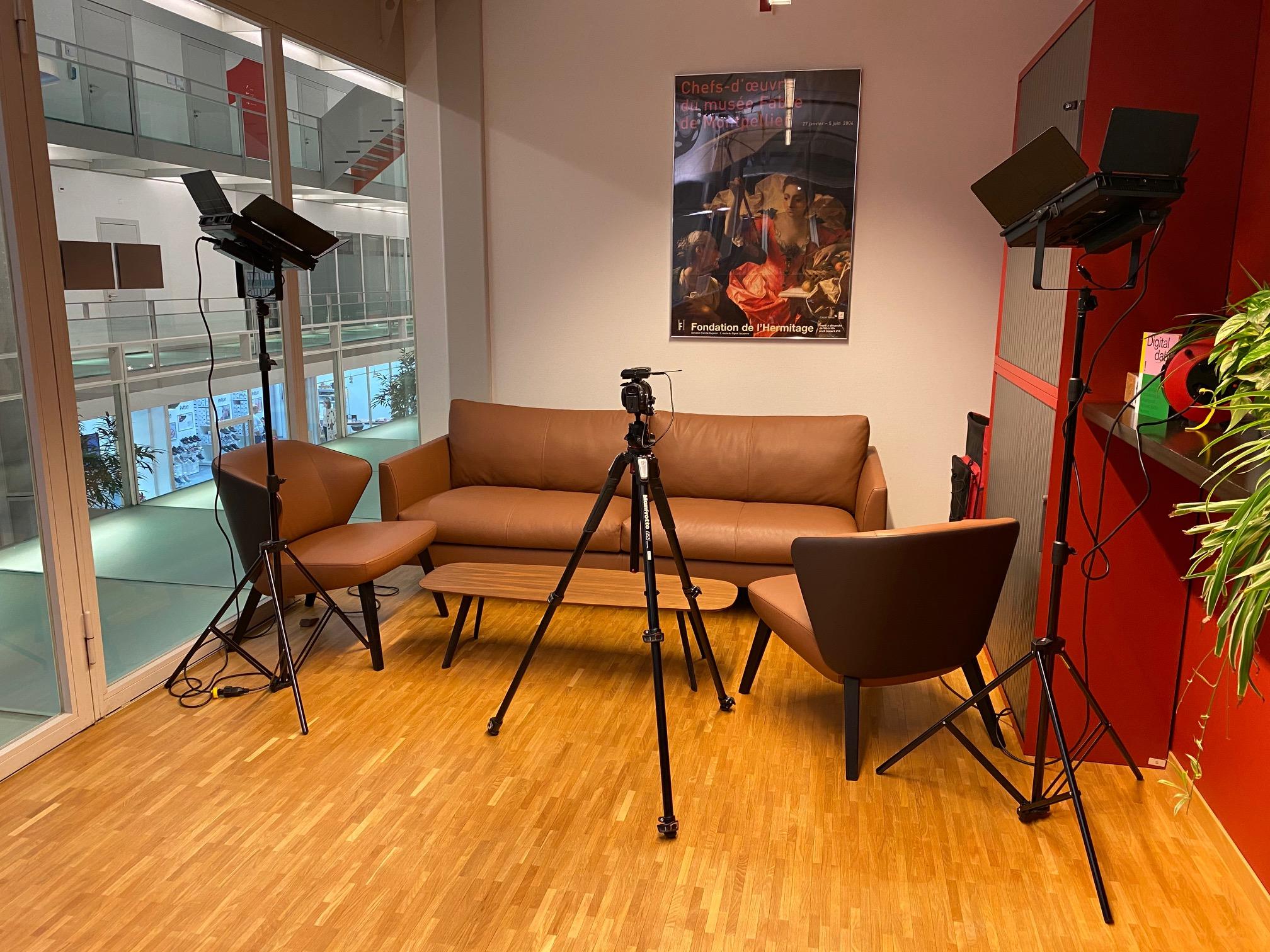 Aufnahme Filmstudio DLC