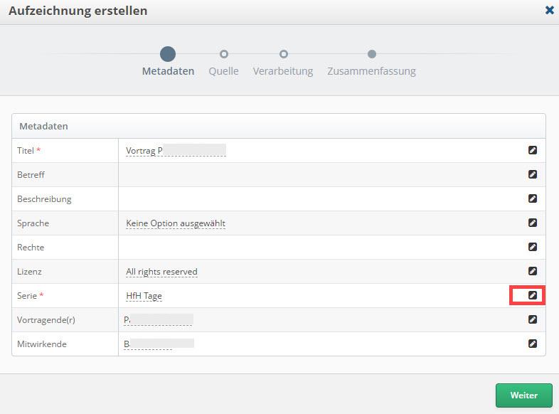 Screenshot Aufzeichnung erstellen