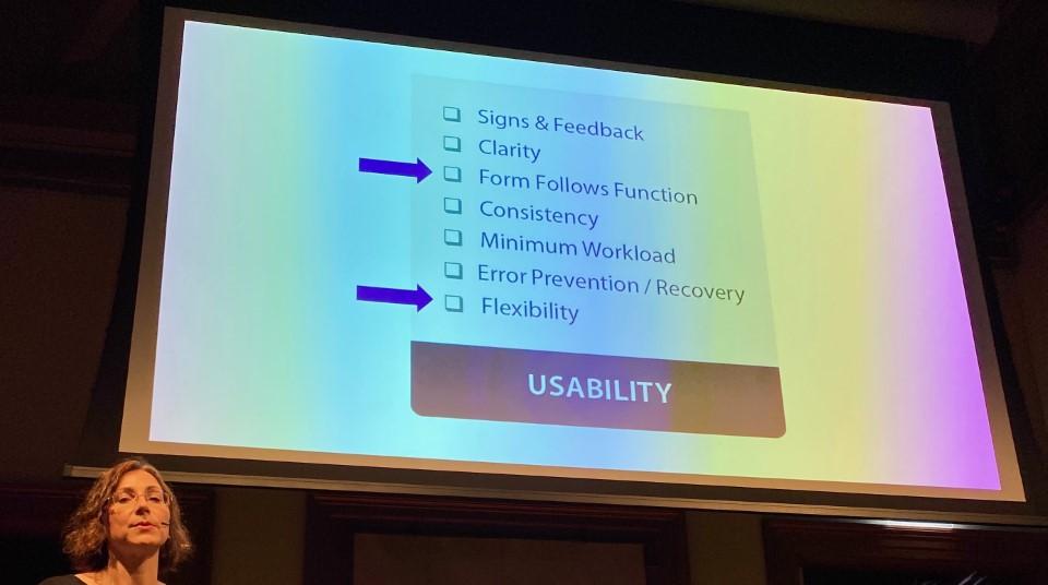Slide Usability