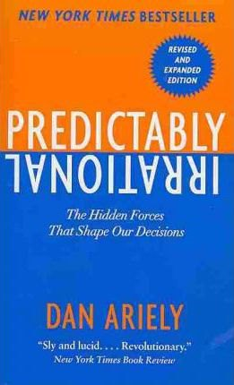 Book title page: Predictably Irrational